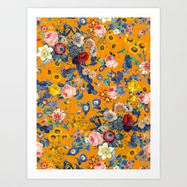 Summer Botanical Garden IX Art Print
