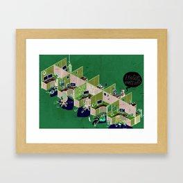 Dead (open) space Framed Art Print