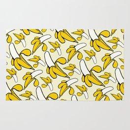 Yellow Nanner Banana Peel Pattern Rug