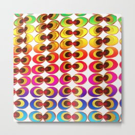 Psychedelic fabric Metal Print