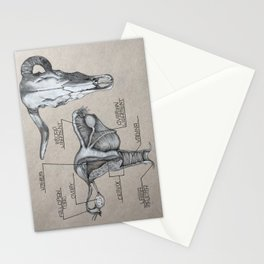 Trophy pieces Stationery Cards