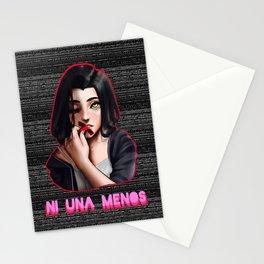 Una Menos Stationery Cards