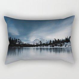 Winter Scene Rectangular Pillow
