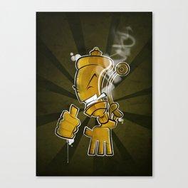 Steam Whistler Canvas Print