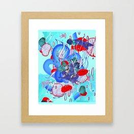 Alien Organism 30 Framed Art Print