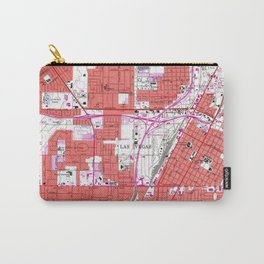 Vintage Map of Las Vegas Nevada (1967) Carry-All Pouch