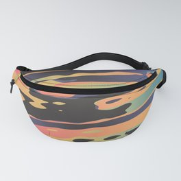 Trippy Dawntime Fanny Pack