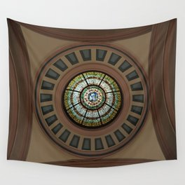Hometown Library Wall Tapestry