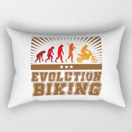 Evolution Biking - Motocross Rectangular Pillow