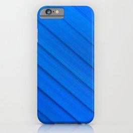 Blue glas solarium pattern iPhone Case