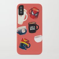 persona iPhone & iPod Cases featuring Workday Persona  by vonhagee