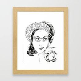 Always on my Mind Framed Art Print