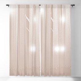 Light Beige Felines Forest Blackout Curtain