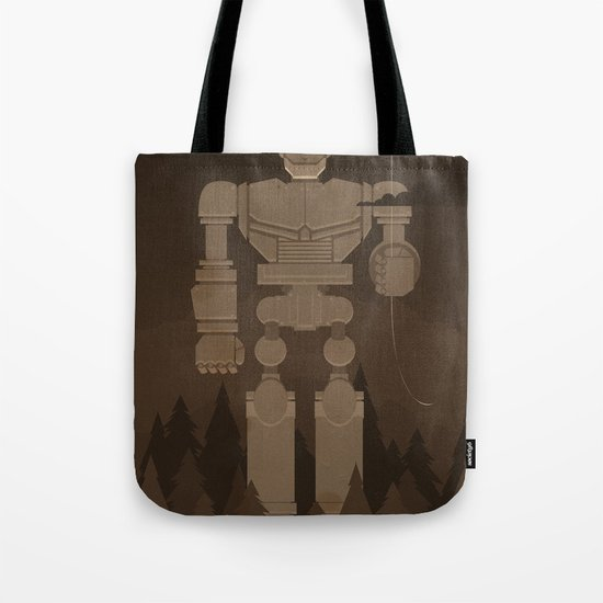 The Robot and The Balloon Tote Bag