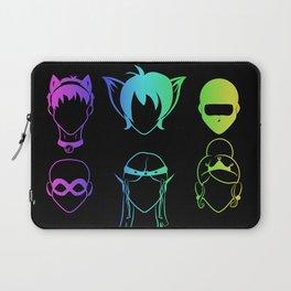 Recognize- Rainbow on Black Laptop Sleeve