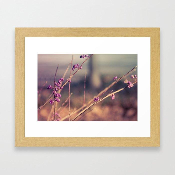 Berries Framed Art Print