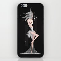 burlesque iPhone & iPod Skins featuring Burlesque by LittlePaperForest