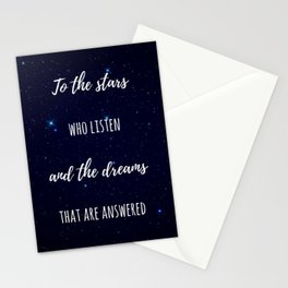 To the Stars Stationery Cards