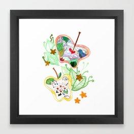 From apple land Framed Art Print