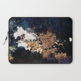 Alien Continents ruined wall texture grunge Laptop Sleeve