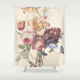 Henriëtte Geertruida Knip - a bouquet - 1820 Shower Curtain