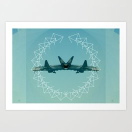Can't Fly Art Print