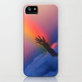 Just saying hi iPhone Case