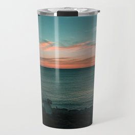 North Beach Sunsets Travel Mug