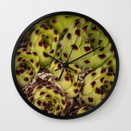 Stone Rose Wall Clock