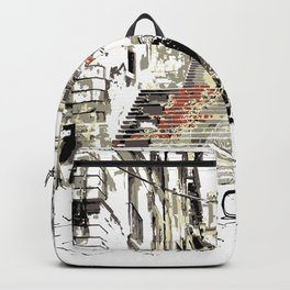 Art Stairs Backpack