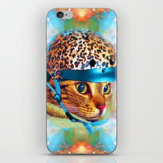 Safety First!-Lady Jasmine iPhone & iPod Skin