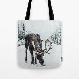 moose #society6 #decor #buyart Tote Bag