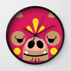 Wrestling Academy Bibi Wall Clock
