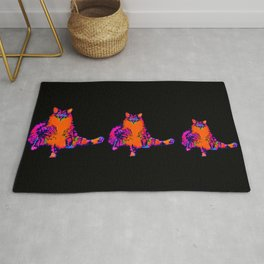 Chester the Fat Cat Rug