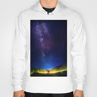 milky way Hoodies featuring The Milky WAY by 2sweet4words Designs
