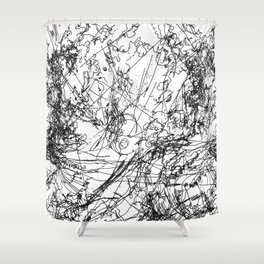 blinded Shower Curtain