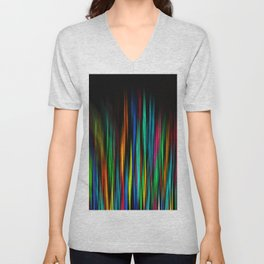 Color Abstract 3.31 Unisex V-Neck
