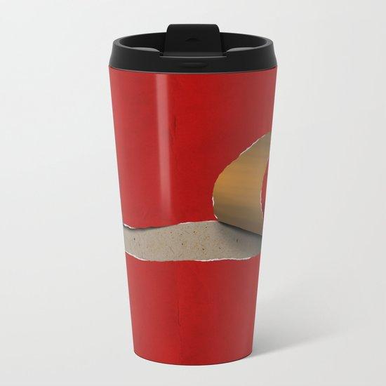 snail Metal Travel Mug