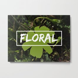 Floral Rainforest Metal Print
