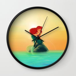 Beauty Mermaid Wall Clock