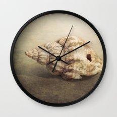 The Sea Shell Wall Clock