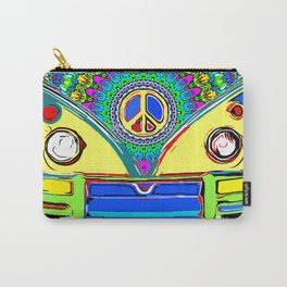 Peace Bus - Psychedelic Carry-All Pouch