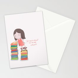lets read  Stationery Cards