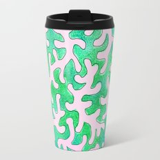 Pink Coral Travel Mug