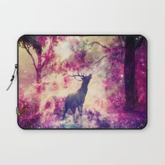Alone in the Magic forest Laptop Sleeve