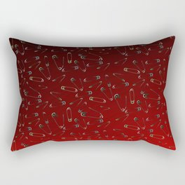 Safe with me ombre Rectangular Pillow