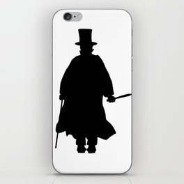 Jack the Ripper Silhouette iPhone Skin