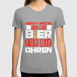 Heavy Metal Beer Festival Concert Funny Gift T-shirt