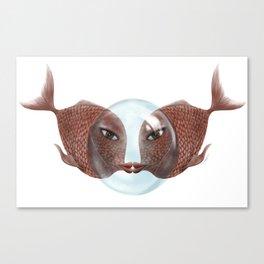 LoveFish Canvas Print