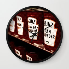 Clam Chowder Wall Clock